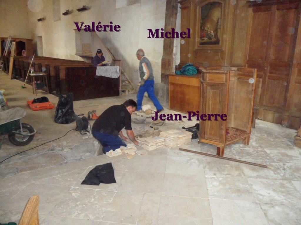 travaux a l'eglise (2)