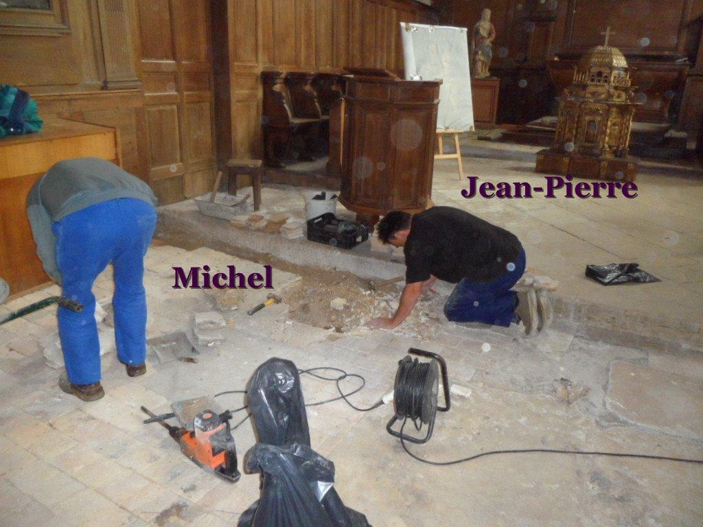 travaux a l'eglise (3)